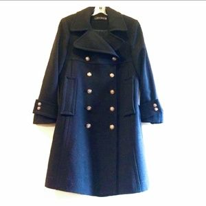 Zara Swing Dress Coat S